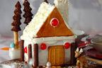子どもと一緒にデコレーション! 「クリスマスサンタのお家ケーキ」
