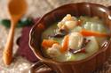 優しい味わいに心も体もポカポカ! 「白菜の豆乳クリーム煮」