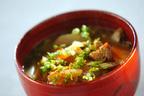 ゴマ油が効いてる! 栄養&ボリューム満点「根菜豚汁」