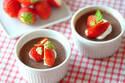板チョコで簡単バレンタインスイーツ 「チョコプリン」