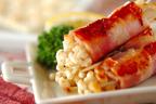 お弁当のおかずにぴったり! 簡単「エノキのベーコン巻き」