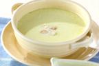 バターで炒めてコク&甘さをアップ!  栄養豊富な「アスパラのスープ」