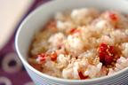 余りがちな天かす活用レシピ! 炊飯器で簡単「天かす入り梅ご飯」