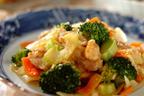 お肉柔らか、旨み&コクもアップ!「鶏肉と野菜の塩麹炒め」