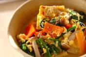 ヘルシーなのに栄養満点! 「高野豆腐の卵とじ」