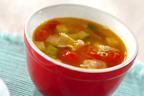 ズッキーニを丸ごと使い切り!「ズッキーニのコンソメスープ」
