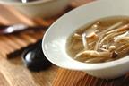 体調を崩したときや食欲がない日にもおすすめ 「キノコとゴボウのジンジャースープ」