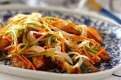 食欲が減退しがちな暑い季節のお助けメニュー 「イワシの南蛮漬け」