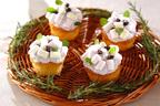 食卓で咲かせよう! 子どもと一緒に作れるスイーツ「アジサイカップケーキ」