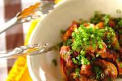 定番メニューを豚バラ肉でアレンジ 「豚バラのショウガ焼き」