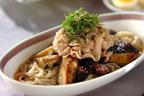 黄金コンビが織りなす絶品料理 「ボリューム満点! 豚しゃぶと揚げナスの素麺」
