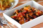 フライパン1つで簡単! おつまみにも最適な「タコとナスのトマト煮」