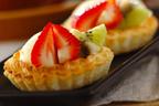 余った餃子の皮も有効活用 「餃子の皮で作る! イチゴとアイスのタルト」