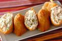 普段のお弁当にも、よそゆきのお弁当にもおすすめ 「鶏そぼろ入りいなり寿司」