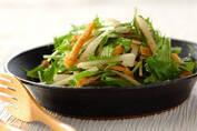 梨をおかずに!? 「京のおばんざい 梨と水菜のサラダ」
