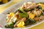 低コストで簡単、ボリューム満点、栄養もばっちりの「鶏肉とツルムラサキの卵炒め」