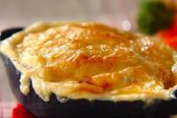 里芋は煮もの以外も美味しい! 豆乳たっぷり「里芋のチーズグラタン」
