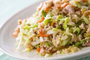 パパッと簡単、コツいらずなのに失敗しない 「豚レタスの混ぜご飯」