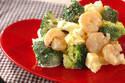栄養バッチリ! 彩りもきれいな「ブロッコリーとむきエビのタルタルサラダ」