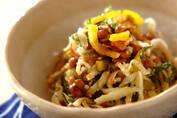 時短で簡単! 栄養満点の「切干し大根と納豆の和え物」