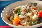 おうちで簡単フレンチ「サバとヒヨコ豆のプレゼ(蒸し煮)」
