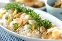 おもてなしにピッタリ! レンジで作る「塩鮭のさっぱり混ぜ寿司」