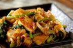 今夜はこれ! ヘルシーでボリューム感あり「豆腐と小松菜のチャンプルー」