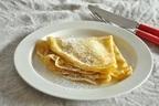 混ぜて焼くだけ!簡単デザート「手作りクレープ」「クレープのジャム煮」