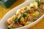 食感がクセになる「豆腐とオカヒジキのチャンプルー」
