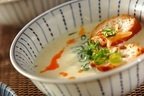 おうちで旅行気分「5分でできる!台湾風豆乳スープ 鹹豆漿」