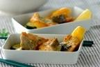 暑い季節に嬉しいレシピ「レンジで簡単サーモンと夏野菜のバジル蒸し」