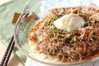 「ネバとろ食材でパワーUP☆夏そば~温泉卵のせ~」疲労回復&老化防止!