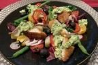 寒ブリとパクチータルタルの菜の花ニソワーズ【ソムリエが教える「エッグ」なサラダ  vol.2】