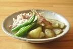 秘訣は、美味しい出汁と天然塩。つくりおきにも便利、素麺にも◎「焼きナスと豚しゃぶのだしびたし」