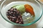 手作りの黒糖ぜんざいで氷菓を味わう「黒糖小豆かん」煮詰めて黒糖あんバタートーストにも。
