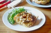 残った生クリームでワンランクアップのパン料理「舞茸のパンベルデュ・サレ」