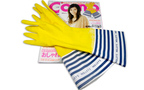 【最新雑誌付録情報】「Como」2011年10月号の付録は「NOLLEY'S×Como ボーダーキッチングローブ」