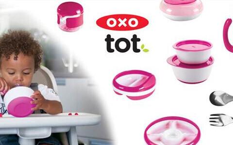 OXOのベビー用品シリーズに新カラーが仲間入り