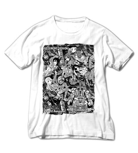 映画「けいおん!」の限定Tシャツと缶バッジが、超カッコイイ