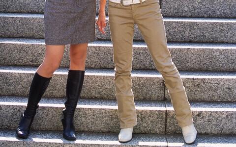 スカートの似合う脚になる! 簡単美脚ケア
