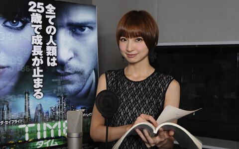 『TIME/タイム』吹替、AKB48 篠田麻里子よりコメントが到着