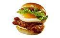 ロッテリアのディナーセット第3弾は、焦がし醤油とバターが香るグリルチキン×エッグのハンバーガー