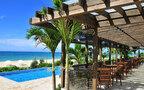 沖縄本島南西のリゾナーレ小浜島で、朝カフェ