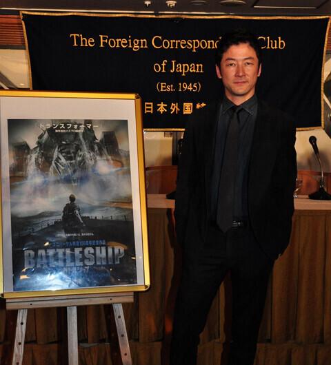 浅野忠信が全米公開への意気込みを語った、興行収入10億円突破『バトルシップ』