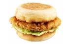 話題の「チキンクリスプ」がマフィンになって朝の¥100マックに登場
