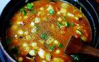 ヘルシー!豆とたっぷり野菜のホットチリスープ