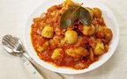 和風だけじゃもったいない。里芋の簡単トマト煮~イタリアン風~