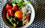 ヘルシー野菜たっぷりビビンバ風お豆腐丼