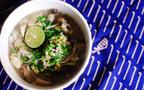 低カロリー&満腹レシピ「きのことスダチのさわやか雑炊」