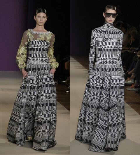 2014年春夏ファッショントレンド パリコレクション速報【1】タルボット・ランホフ